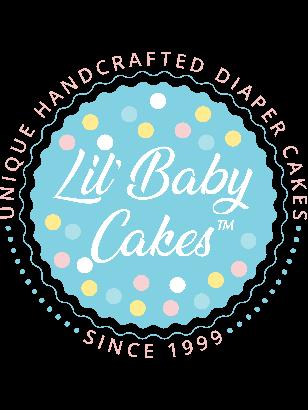 Our Lil' Pumpkin 4 Tier Diaper Cake