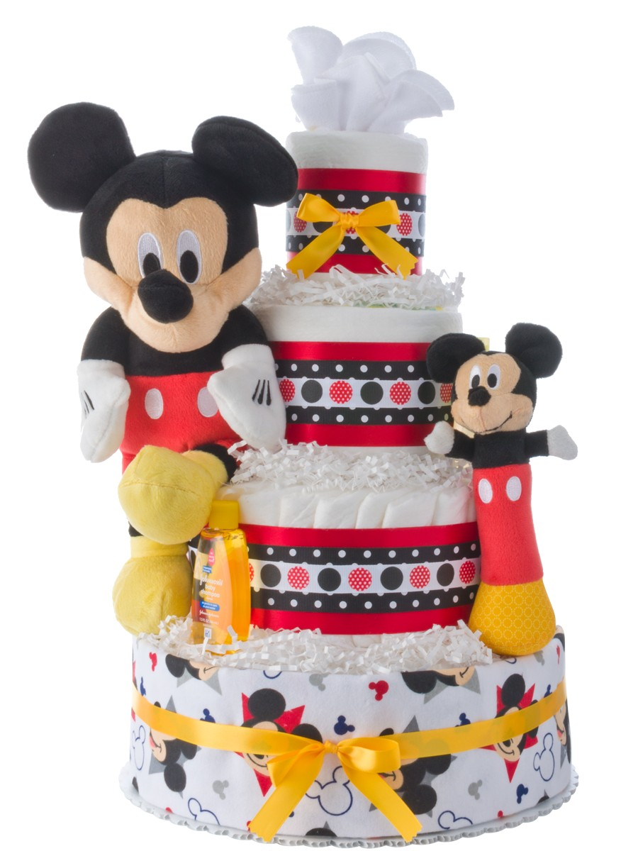 Baby Mickey Mouse Baby Shower Cake