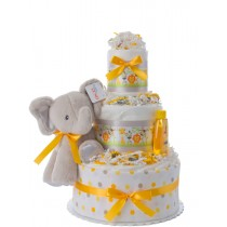 Lil' Jungle Friends Diaper Cake