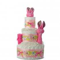 Hippity Hop Bunny Diaper Cake