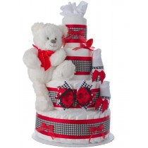 Lil' City Girl Baby Diaper Cake