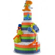 Lil Dino Baby Diaper Cake