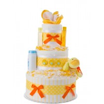 Lil' Yellow Duck Baby Diaper Cake