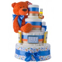 My Lil' Boy Baby Diaper Cake