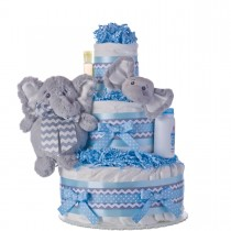 My Elephant Friend Diaper Cake