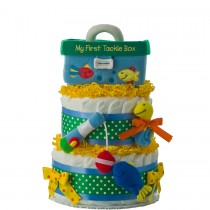 My First Tackle Box Diape Cake