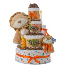 Wild Things 4 Tier Baby Diaper Cake