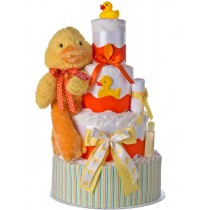 Lil Baby Cakes Fuzzy Duck 4 Tier