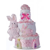 Lil' Cottonball Baby Diaper Cake