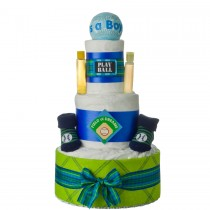 Lil' Baby Cakes Play Ball Diaper Cake