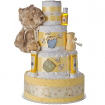 Winnie the Pooh Baby Diaper Cake