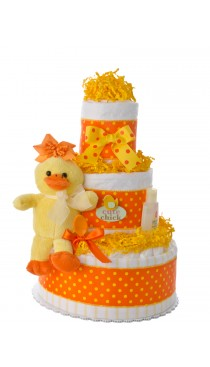 Cute Chick Girl Diaper Cake