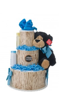 Hello Handsome 3 Tier Baby Diaper Cake