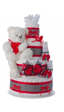 Lil City Girl Baby Diaper Cake
