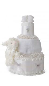 My Christening Baby Diaper Cake