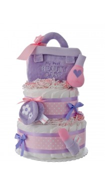My First Beauty Baby Diaper Cake