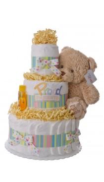 Proud Parents 3 Tier Diaper Cake