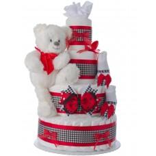Lil' City Girl Baby Diaper Cake