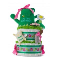 My Lil' Garden Diaper Cake for Girls