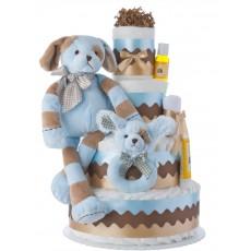 Barker Diaper Cake for Boys