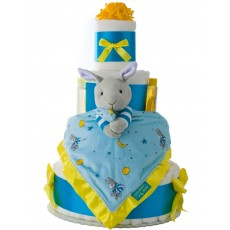 Goodnight Moon 4 Tier Baby Diaper Cake