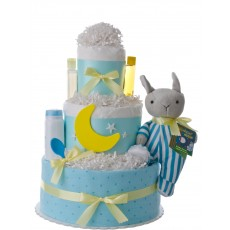 Goodnight Moon Baby Shower Diaper Cake