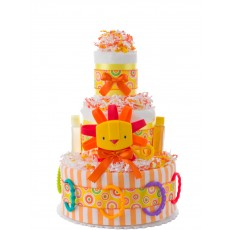 Lil' Lion 3 Tier Diaper Cake