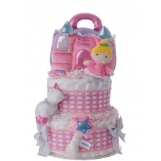 My Lil Princess Diaper Cake for Girls