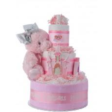 My Lil Princess Diaper Cake for Girls