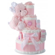 She is Perfect Diaper Cake for Girls