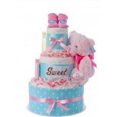So Sweet 3 Tier Diaper Cake