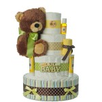 Brand New Baby Bear Diaper Cake