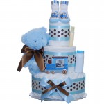 Our Lil' Choo Choo 3 Tier Diaper Cake