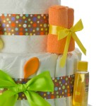 Circus Diaper Cake right