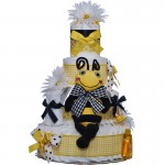 Sweet Bee 4 Tier Diaper Cake