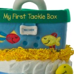 My First Tackle Box Diape Cake top