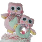 Owl Rattle and Plush Toy