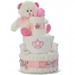 Our Lil' Princess 3 Tier Diaper Cake