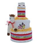 Welcome To The Farm 3 Tier Diaper Cake