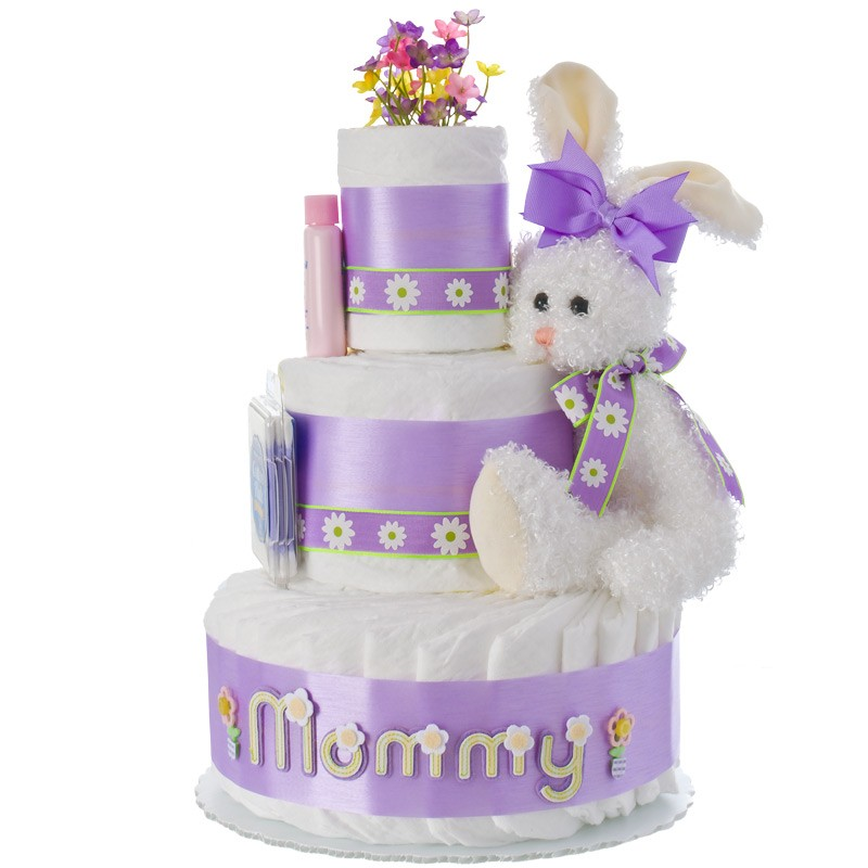 New Mommy 3 Tier Diaper Cake