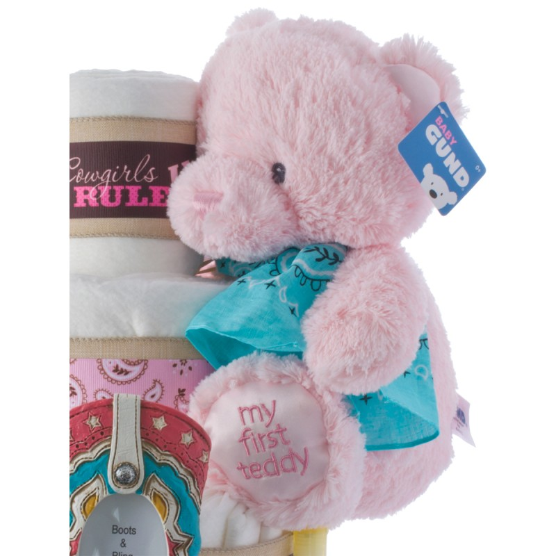 Baby Gund Pink My First Teddy Plush Toy