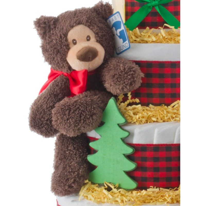 Baby Gund Brown Plush Bear