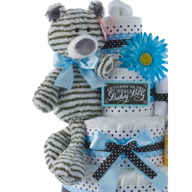 Baby Gund Striped Plush Toy