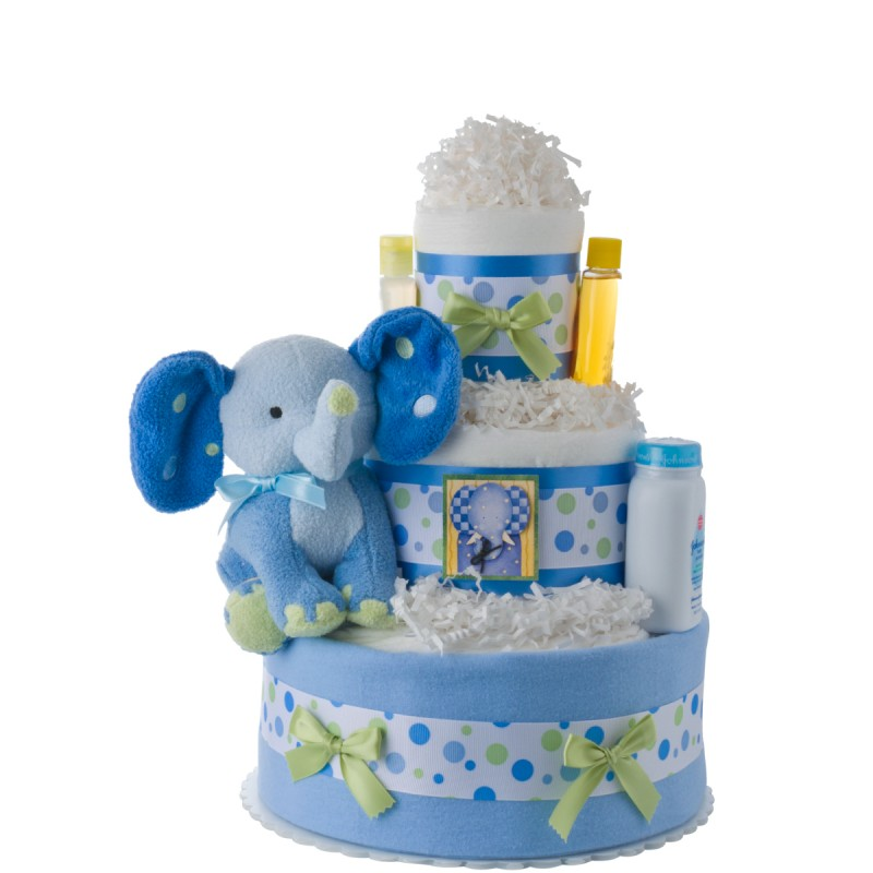 Blue Elephant Plush Toy
