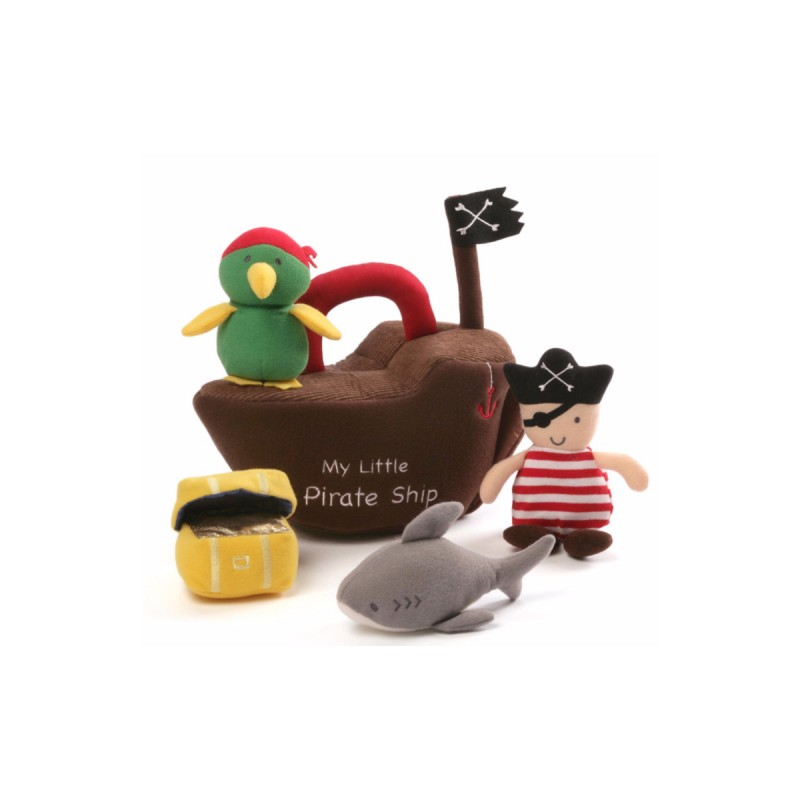 Gund My Little Pirate Ship Baby Toy Playset
