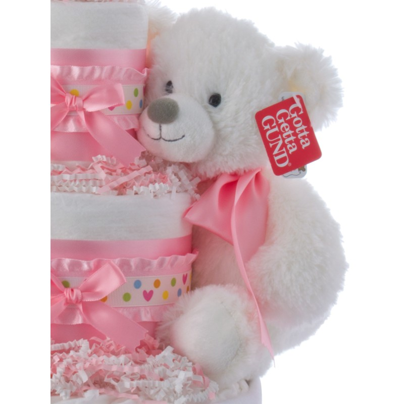 Gund White Plush Teddy Bear