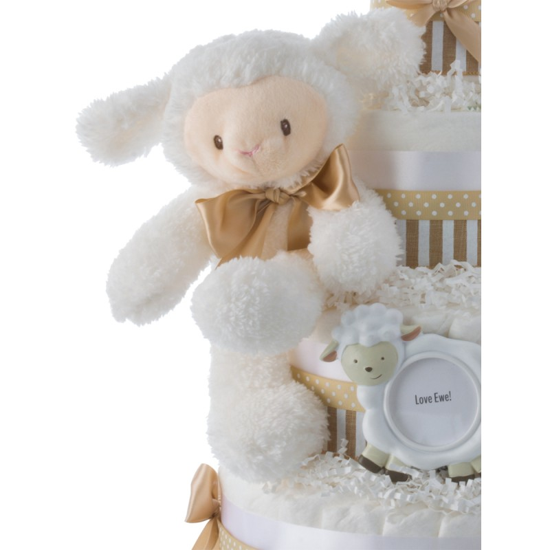 Luvable Lamb Plush Toy