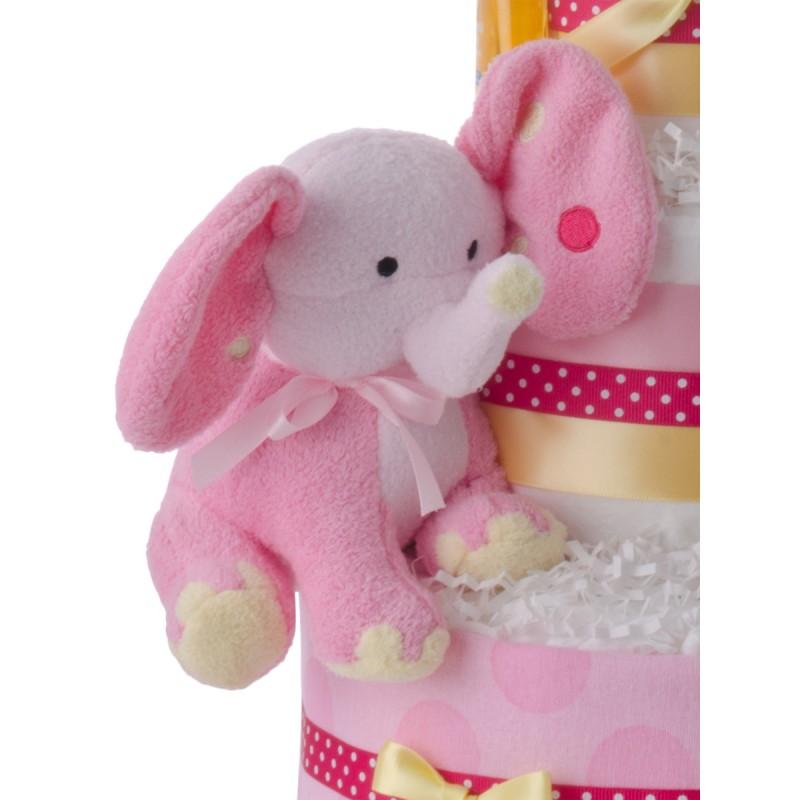 Pink Elephant Plush Toy