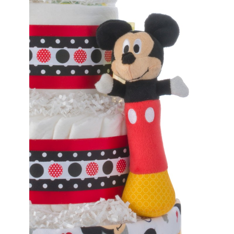 Mickey Mouse Plush Rattle