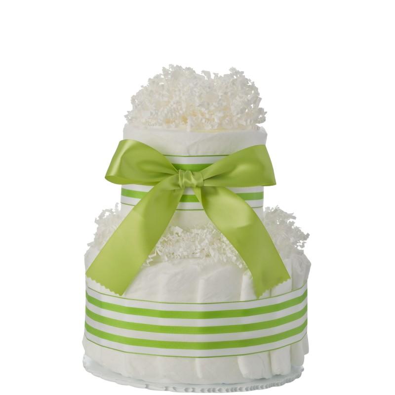Mini Tickled Green Diaper Cake